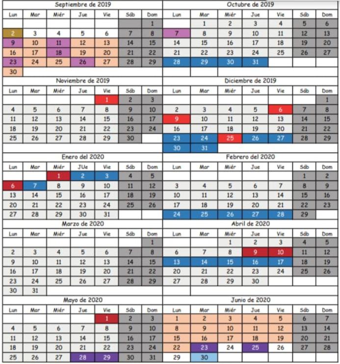 Calendario Escolar 2020 Cantabria.Publicado El Calendario Escolar Para El Curso 2019 2020 Cantabria